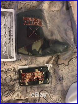 Scotty Cameron 2017 Club Cameron Kit Camo Duffle Bag Leash Cover Tees Tool NIB