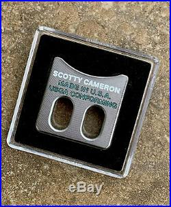 Scotty Cameron 2020 Gallery Limited BALL ALIGNMENT TOOL (RARE) Scotty Blue