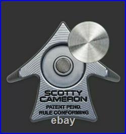 Scotty Cameron 2021 Club Cameron TCC Aero Alignment Tool Bright Dip Gray New