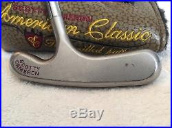 Scotty Cameron American Classic III Putter With Matching New Cover, Divot Tool