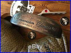 Scotty Cameron American Classic VII Napa Putter RH 33.75 w HC & Pivot Tool