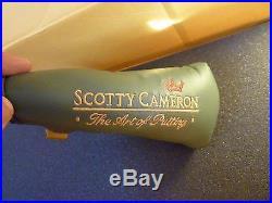 Scotty Cameron Art of putting Sage green head cover w divot tool Titleist golf