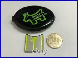 Scotty Cameron Ball Alignment Tool Marker Junkyard Japan Dog lime
