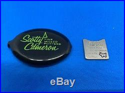 Scotty Cameron Ball Marker Alignment Tool (Lime Green) with case Bulldog