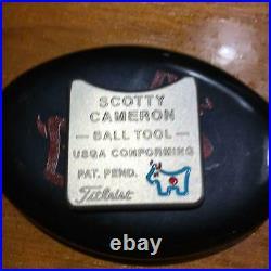 Scotty Cameron Ball Tool Junkyard Dog Ball Marker Coin japan first shipping