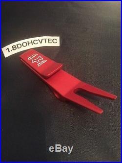 Scotty Cameron Bull Dog Clip Pivot Divot Tool Red