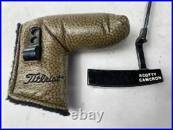 Scotty Cameron Circa 62 Charcoal Mist 6 Putter 35 Mens RH HC & Divot Tool