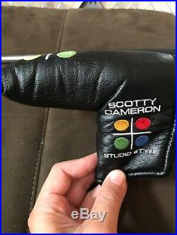 Scotty Cameron Circa 62 Model No. 3 with SC Original RARE Head Cover+SC Divot Tool