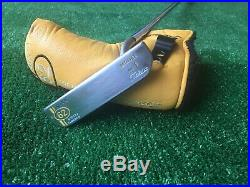 Scotty Cameron Circa 62 No. 1 RH 34 WithHC, New Repair Tool And Leather Grip