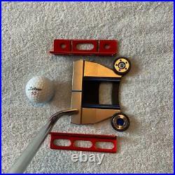 Scotty Cameron Circle T Putting Path Tool Bright Dip Red Golf Mint