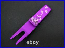 Scotty Cameron EDDIE MAME NINJA Pivot Divot Tool 2020 Purple Gallery 5-288