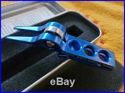 Scotty Cameron FOR TOUR USE ONLY High Roller Clip Divot/Pivot Tool Bright Blue