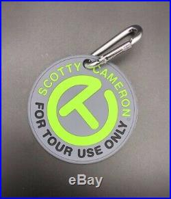 Scotty Cameron For Tour Use Only Circle T Putting Disc Tool with Clip Lime Green