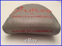 Scotty Cameron Futura 34 Putter Head Cover Divot Tool Titleist RH ORIGINAL GRIP