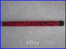 Scotty Cameron Futura Phantom with Original Scotty Head Cover and Ball Mark Tool