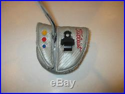Scotty Cameron Futura Putter 34 WIth Headcover AND Divot Tool