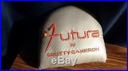 Scotty Cameron Futura Putter RH 34 All Original With Headcover & Divot tool