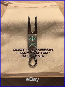Scotty Cameron Gallery Handmade High Buff Twisty SS Pivot Tool Stainless
