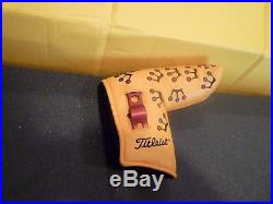 Scotty Cameron Head Cover Yellow Mini Crowns With Divot Tool
