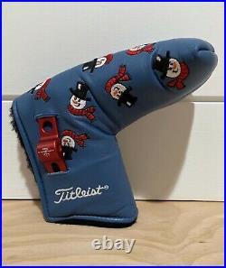 Scotty Cameron Headcover 2003 Dancing Snowmen Putter Cover Divot Tool Golf New