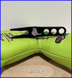 Scotty Cameron Headcover 2004 Hula Girl Lime Putter Cover Divot Tool Golf New