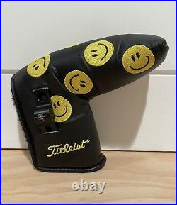 Scotty Cameron Headcover 2007 Smiley Face Putter Cover Pivot Tool Golf New