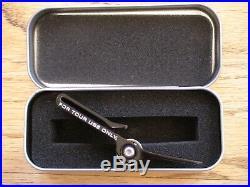 Scotty Cameron High Roller Clip Pivot Divot Tool Black Ftuo Rare New Pga