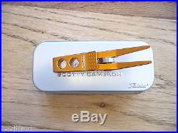 Scotty Cameron High Roller Clip Pivot Divot Tool Electric Orange Rare New Pga