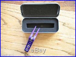 Scotty Cameron High Roller Clip Pivot Divot Tool Electric Purple Rare New Pga