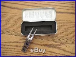Scotty Cameron High Roller Clip Pivot Divot Tool Gray Rare New In Tin Rare Pga