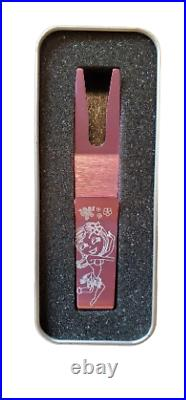 Scotty Cameron Hula Girl Divot Pivot Repair Tool Pink Golf Putter WithCase NEW