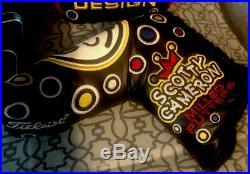 Scotty Cameron Jackpot Johnny Bubbles Headcover Set With New JJ Pivot Tool