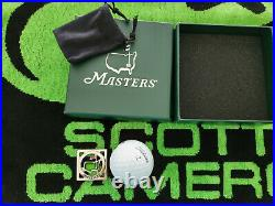 Scotty Cameron Masters Square Limited Hand Crafted Putter Golf Ball Marker/Tool