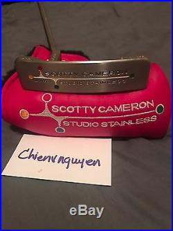 Scotty Cameron Newport 2 1st Run Of 500 Brand New With Head Cover & Divot Tool