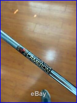 Scotty Cameron Newport 2 LH White With 30 Gram Weights/tool