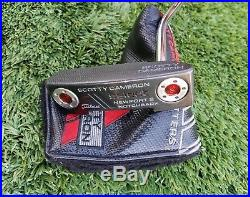 Scotty Cameron Newport 2 Notchback 33 with headcover, no tools, very nice