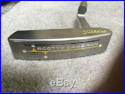 Scotty Cameron Newport Beach Putter with Cover & Tool, 34