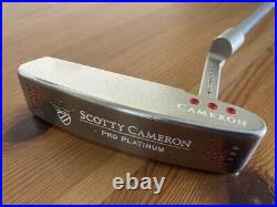 Scotty Cameron Newport Mil-Spec 34/340, Red Pistolero, Cover + Divot Tool, Exc