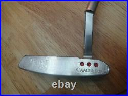 Scotty Cameron Newport PRO PLATINUM Putter with Headcover and Divot Tool