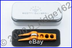Scotty Cameron Orange For Tour Use Only High Roller Clip Pivot Tool + BallMarker