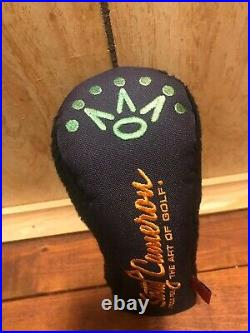 Scotty Cameron Original OG Hy Tools For The Art Of Putting Navy 7pt Crown Used