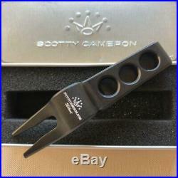 Scotty Cameron Pivot Divot Tool LUCKY DOG Black Titleist Repair tool