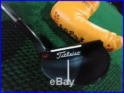 Scotty Cameron Prototype J. A. T. Putter, with headcover and tool. 35 inches