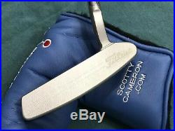 Scotty Cameron Prototype Newport Beach 1.5 Putter withCover & Tool BRAND NEW