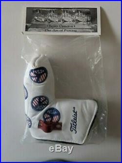 Scotty Cameron Putter Cover USA peace signs With tool New In Bag