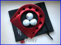 Scotty Cameron RARE Red Milled Putting Cup + 3 balls + Red Putting Path Tool
