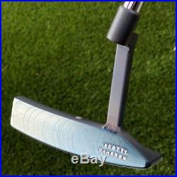 Scotty Cameron Rare Tour Studio Design Chromatic Blue Tool Box 350G Circle T