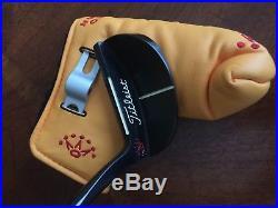 Scotty Cameron Sergio Garcia Prototype JAT Putter With Headcover, Divot Tool