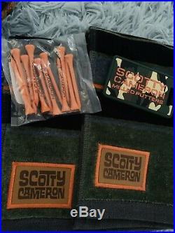 Scotty Cameron Set Cover Tool Towel Tees Bag Tag