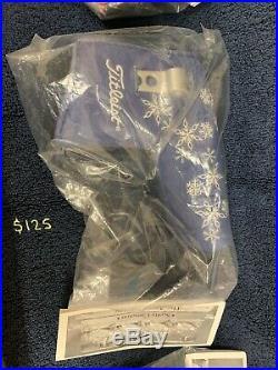 Scotty Cameron Snowflake Headcover WithDivot Tool